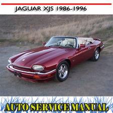 JAGUAR XJS 1986-1996  REPAIR OPERATION SERVICE + PARTS MANUAL ~ DVD