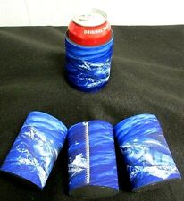 Marlin Soda Beer Can Holder Insulator Cooler Blue Marlin Koozie Fish Coozie L10