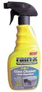 Rain-X 2-in-1 Car Windscreen Glass Cleaner & Rain Repellent 500ml