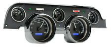 Dakota Digital 67 68 Ford Mustang Analog Dash Gauge Black Alloy Blue VHX-67F-MUS