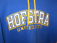 Hofstra University Hoodie by Champion Blue & Yellow Size Large