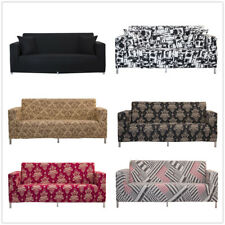 1/2/3/4 Seater Spendex Slipcover Stretch Sofa Covers Removable Couch Protector