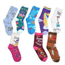 Fashion Men Women Happy Funny Socks Cotton Animal Fruit Bird Casual Soft 77Style