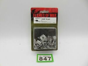 Flames of War GBR571 OQF 18 pdr blister 847-327