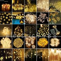Warm White Christmas Wedding Xmas Party Decor Outdoor Fairy String Light lot