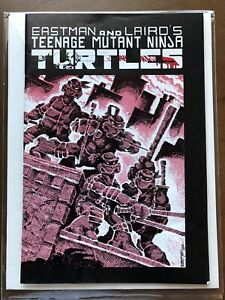 Teenage Mutant Ninja Turtles #1 3rd Printing Comic Book TMNT Mirage Studio 1985