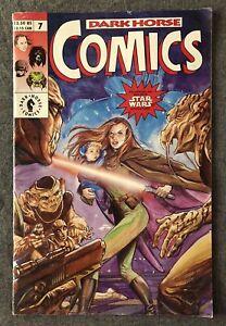 Dark Horse Comics Issue 7 - Star Wars Jedi Mad Dogs Robocop Predator - Feb 1993