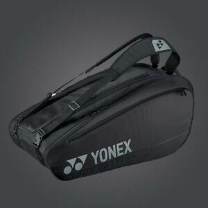 Yonex Pro Series Black 9 pack tennis badminton bag