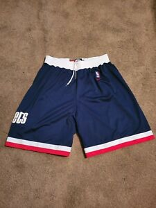 Rétro Houston Rockets James Harden Basketball Cousu Shorts Blanc