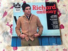 richard anthony 45 t 4 titres (1965) au revoir mon amour en attendant collector