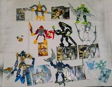 LEGO Bionicle 8 sets 7138 8981 7137 8976 7136 8973 7135