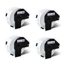 4 Rolls Dk1208 White Address Labels For Brother Ql 650td Ql 1060n With4 Frame