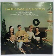 A Merry Mancini Christmas ~ RCA Records EX Stereo LP