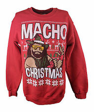 Macho Man Randy Savage Ugly Christmas Mens Sweater Sweatshirt