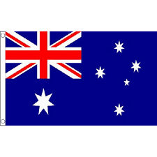 Australia Large Flag 8Ft X 5Ft Austalian Country Banner With 2 Metal Eyelets