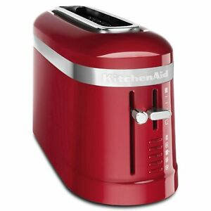 New KitchenAid 2 Slice Long Slot Design Toaster with High Lift Lever KMT3115