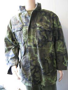 Czech Army M95 Jacket Parka Camo Camouflage Woodland Military Surplus