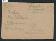 40485) Zur Ortsangabe gehört stets die POSTLEITZAHL K2 Aachen 1 FP 30.3.44