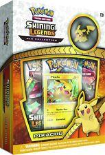 Pikachu Promo + 3 x Online Code Card - Pokemon Shining Legends: Pikachu Box TCGO