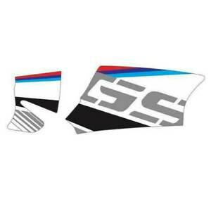 Motorcycle USA Italy Flag Reflective Decal Case for BMW R1200GS R1250GS 04-13 KN