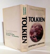 Humphrey Carpenter, TOLKIEN, THE AUTHORIZED BIOGRAPHY, 1977, 1st Am Ed, HC/DJ
