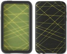 BELKIN F8Z404-BY Silicone Sleeve for iPod Touch 2G (Black/Green)