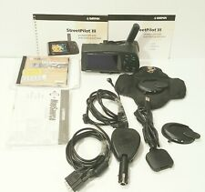 Garmin StreetPilot Iii Color Gps Deluxe Package Marine Boat Car Super Nice Unit