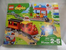 Lego Duplo Steam Train NIB #10874 Preschool Building Toy (M1)