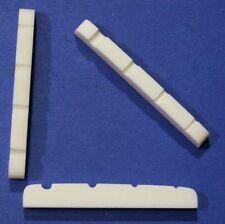 Knochen Sattel 37 mm für Bass-Gitarre, Spacing ca. 28 mm, Typ BK-26