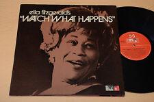 ELLA FITZGERALD LP WATCH WHAT HAPPENS USA TOP JAZZ NM ! UNPLAYED !