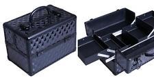 Maleta Aluminio Utiles Negra (Vacia) 220 X 350 X 235mm Peluqueria ProfesionaL