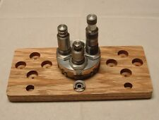 Red Oak Die/Turret Holder for Lee Precision Four Hole Turret