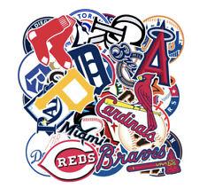30 X MLB Baseball Team Stickers