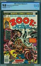 2001: A SPACE ODYSSEY # 3   US MARVEL 1977 Jack IKirby Cover&art  MINT 9.8 CBCS