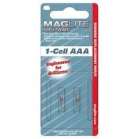 Maglite lampadine di ricambio x torcia elettrica AAA 1-Cell Maglite Solitaire