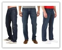 Levis 559 Relaxed Straight Fit Mens Jeans Dark Blue New Authentic