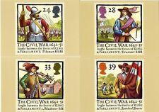 GB POSTCARDS PHQ CARDS NO. 144 MINT FULL SET 1992 CIVIL WAR 10% OFF 5+
