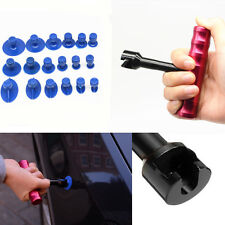 Car Autos T-Bar Body Panel Paintless Dent Pit Repair Tool Lifter Puller 18x Tab