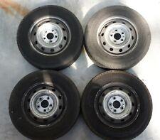 4 Stahlfelgen Fiat Ducato für 205/70 R 15C