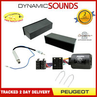 Car Stereo Replacement Fitting Kit Pocket Steering Control For Peugeot 307 <2005