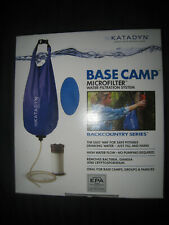 Katadyn Base Camp Microfilter Back Country Series