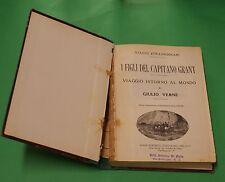 Jules Verne - I figli del capitano Grant - 1^ Ed. Sonzogno 1930