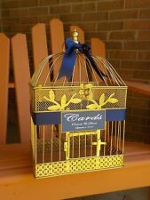 Gold Birdcage Card Holder Wedding Card Holder, Wedding Card Box Wedding Supplies
