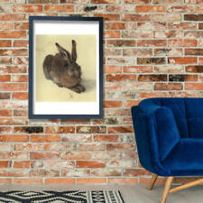 More details for albrecht durer - young hare giclee wall art poster print
