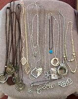 19 Piece Necklace Lot. Most Have Never Even Been Worn. Jewelry box Cleanout!
