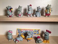 Ü-Ei Die Happy Hippos KPS 1988 + Beipackzettel 100% Original TOP Zustand