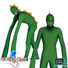 ADULT MUTANT REPTILE COSTUME Alien REPTILE Halloween Fancy Dress Outfit 84275