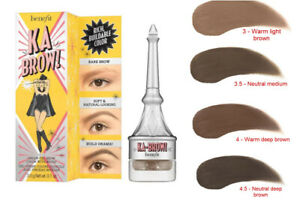NIB Benefit Ka-BROW! Eyebrow Cream-Gel Color You Pick Full Size!