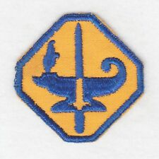 Army Patch:  Army Specialized Training Program - WWII era, on twill