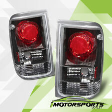 1993 1994 1995 1996 1997 Ford Ranger Factory Style Black Rear Tail Lights Pair